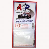 Шестерня на электродвигатель ARP 64 pitch 10 зубов с углом 5°,  на вал 2 мм - #arp6410A