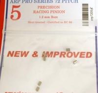 Шестерня на электродвигатель ARP 72 pitch 5 зубов, на вал 1.2 мм. Сертифицировано по RC55 - #7205H