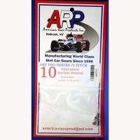 ARP Шестерня на электродвигатель ARP 72 pitch 10 зубов,  на вал 2 мм - #ARP7210