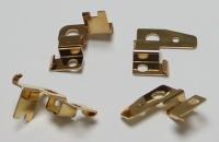 Щеткодержатели горизонтальные CAHOZA, позолоченные, комплект - #171