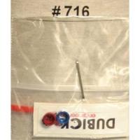 DUBICK Анодированные стаканы для 3-х витк. пружин на задние крышки - #DB716