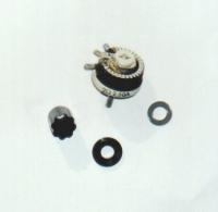 Реостат тормозной DIFALСO 3 Ома, с графитовым контактом, шунтом и ручкой - #DIF806