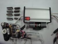 S&K Электронный пульт S&K, полный аналог пульта DEFALKO, оригинальный транзистор, комплект 9 картриджей, механический чок, тормозной реостат DIFALCO, встроенный вольтметр. - #SK0101