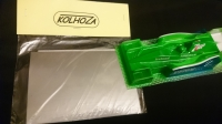 Малярные маски (декали) для покраски кузова Kolhoza F1 Mercedes W07 Hybrid в кузов Jordan 191 1991, набор с монтажной пленкой - #00005