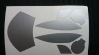 Taylo Racing Комплект малярных масок для кузова Production 1/32 McLaren F1 GT (#651) - #PR321
