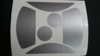Taylo Racing Комплект малярных масок для кузова Production 1/24 Alfa Romeo (#6571)- #PR241