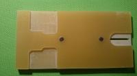 Столик ZHB для модели текстолитовый с магнитами - #1021