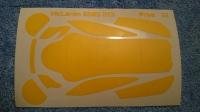 Комплект малярных масок для кузова Production 1/32 McLaren 650S GT3 - #PR323