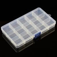 Органайзер универсальный 104×176×23 мм, содержит 15 конфигурируемых отсека, прозрачный пластик