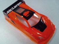 OLEG Кузов Production 1/24 Mclaren 650S GT3, Lexan толщиной 0.125 мм с масками - #0119T