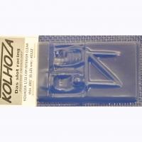 KOLHOZA Салон для кузовов 1/32, неокрашенный, толщиной 0,125 мм - #0122