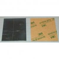 """Свинец листовой толщиной .032"""" (0.8 мм), 38 х 53 мм с липким слоем"""