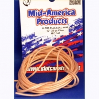 MID AMERICA Провод силиконовый 20Ga (сечение 0,52 мм²), прозрачный, 3 м (10 ft.) - #MID143