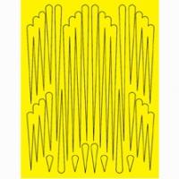 Набор малярных масок PARMA SCALLOPS, лист 205 х 290 мм - #10784