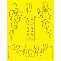 Набор малярных масок PARMA BIG DRIP DESIGN, лист 205 х 290 мм - #10811