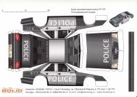 """Кузов """"Чайник"""" из картона, Сhevrolet серии Nascar """"POLICE"""""""