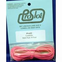 Провод силиконовый 18Ga (сечение 0,82 мм²), розовый, 3 м (10 ft) - #PS-622
