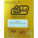 Комплект щеткодержателей для мотора PROSLOT X12 без винтов и стаканчиков - #PS641