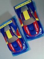Кузов Production 1/24 Chevrolet Corvette, Lexan толщиной 0.125 мм c масками и наклейками - #0117T