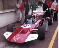 """Кузов Retro Formula 1/24  Surtees TS 7, Lexan толщиной .01"""" (0.25 мм), с пилотом - #0115L"""