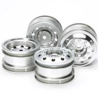 """TAMIYA Комплект колёс """"On road truck wheels"""", 2 передних/ 2 задних - #51588"""