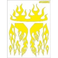 """TAYLO RACING Маски для покраски кузова декоративные """"FLAME"""" - #028RC"""