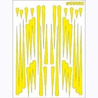 "TAYLO RACING Маски для покраски кузова декоративные ""GRAPHICS"" - #030RC"