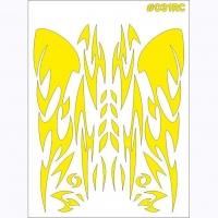 "TAYLO RACING Маски для покраски кузова декоративные ""GRAPHICS"" - #031RC"
