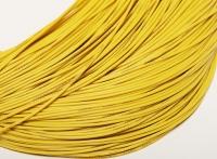 Провод силиконовый 24Ga (сечение 0,21 мм²), желтый, 1 м