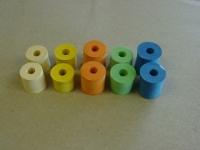 Шины задних колес ALPHA SBR оранжевые, пара - #ORANGE