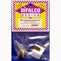 Реостат тормозной DIFALСO 3 Ома, с графитовым контактом и шунтом без ручки - #DIF807