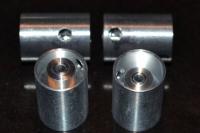 """BSV Диски задних колес модели на ось 3/32"""" (2.36 мм), шириной 16 мм, Ø11 мм, со сдвинутой ступицей, дюралюминиевые- #BSVd1611of"""
