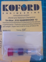 "KOFORD Ротор группы X12 РУЧНОЙ НАМОТКИ (HANDWOUND), с углом опережения 48º, диаметр 0.518"" - #M468-H12"