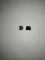 BSV Шестерня на электродвигатель 48 pitch (0,5 модуль), 10 зубов, на вал 2 мм, пластмассовая- #BSVP4810