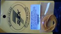 Провод силиконовый 21Ga (сечение 0,41 мм²), желтый, 1 м (3 ft) - #S7-546