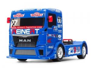 "TAMIYA Модель RC грузовик 1/14 ""Team REINERT Racing MAN TGS (TT-01 type E)"" - # 58642"