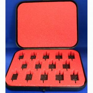 WRIGHT WAY Пластмассовый бокс с мягкой вставкой для хранения 14 моторов HAWK-размера - #WW19